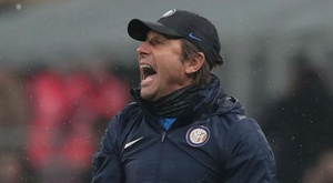 Conte is delighted that his Inter side have gone back top of Serie A. GOAL