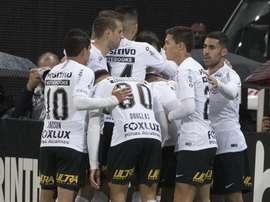 Corinthians Chapecoense Copa do Brasil. Goal