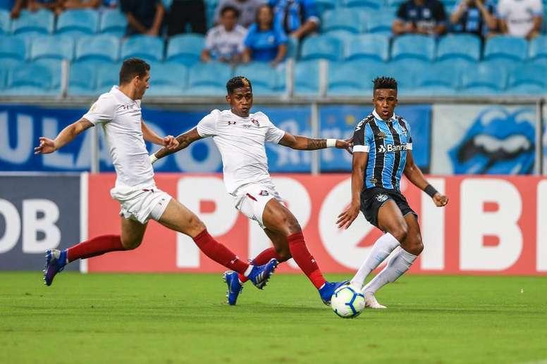Grêmio e denunciado no STJD por injúria racial contra Yony González, do Fluminense.