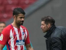 Simeone has faith in Costa. GOAL