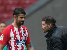 Simeone has faith in Costa. GOAL