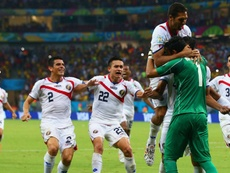 Costa Rica made the quarter-finals of the 2014 World Cup. GOAL