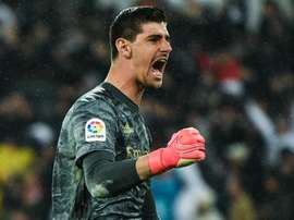 Thibaut Courtois believes Real Madrid risk paid off against Barcelona. GOAL