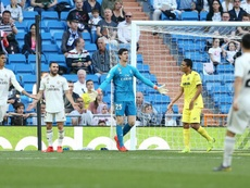 Pressure of Santiago Bernabeu gives Courtois desire to improve.