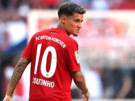 Bayern não seguirá com Coutinho. EFE