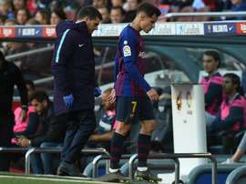Coutinho, Dembele doubts for Copa. Goal
