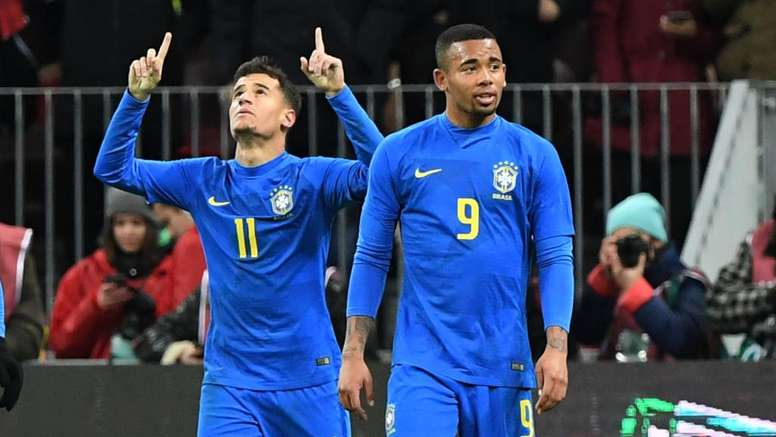 Brasil venceu no palco da final. Goal