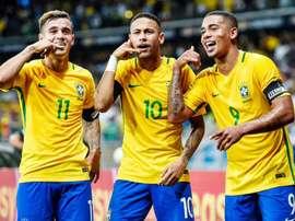 Brasil não se preocupa com ferrolhos. Goal
