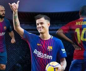 Coutinho se tornou no jogador mais caro da história do Barcelona. GOAL
