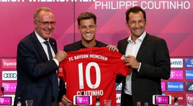 Coutinho a great replacement to Robben's No.10 shirt at Bayern. GOAL