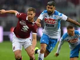 L'esterno difensivo del Napoli Hysaj. Goal