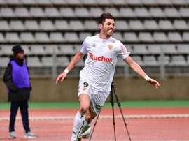 Cristian Lopez dans le viseur de Monreal. Goal