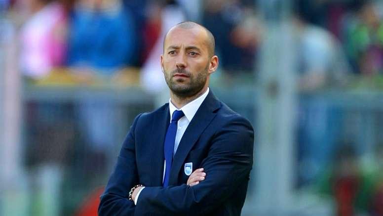 Sassuolo have named Cristian Bucchi as Eusebio Di Francesco's replacement. GOAL