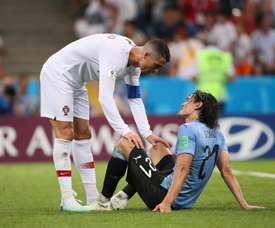 Cavani não deve ser titular frente à França. Goal