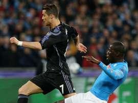 Ronaldo slams the racists. AFP