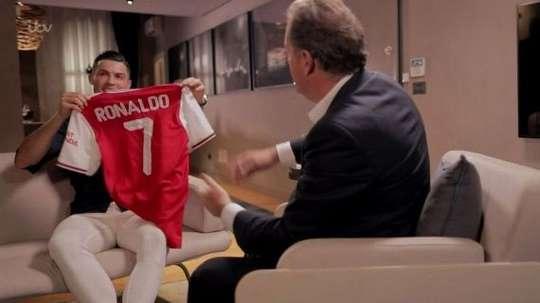 Cristiano Ronaldo ficou a um passo do Arsenal. Goal