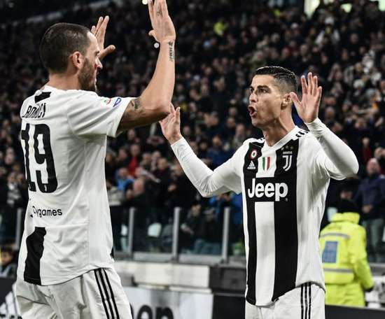 Ronaldo, toujours lui. AFP