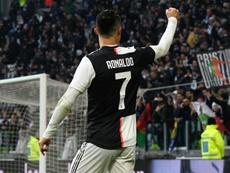 Sarri: Ronaldo's knee problem is behind him. GOAL