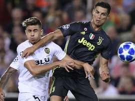 Valencia Juventus Champions League. Goal