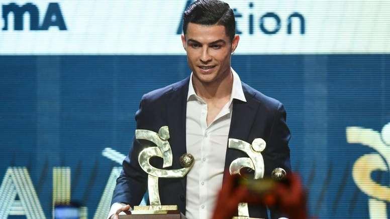 Cristiano Ronaldo élu meilleur joueur de la Serie A. GranGala