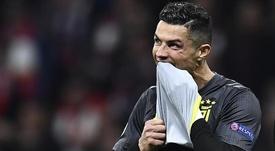 Ronaldo n'a rien pu faire contre l'Atlético Madrid. Goal