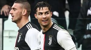 Ronaldo et la Vieille Dame mettent la pression à l'Inter. AFP