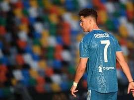 Cristiano Ronaldo laissé au repos face à la Roma. GOAL