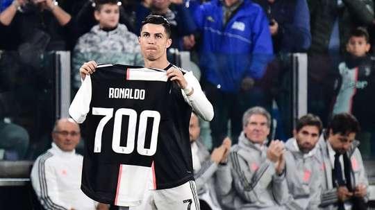 L'omaggio della Juventus a Ronaldo. Goal