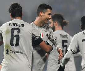 Ronaldo a de nouveau trouvé le chemin des filets. Goal