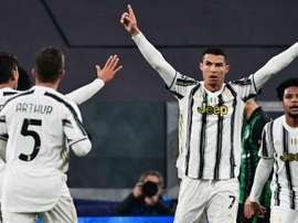 CR7 iguala recorde caseiro de Messi na Champions. EFE