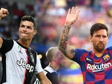 Cristiano Ronaldo Lionel Messi 2019