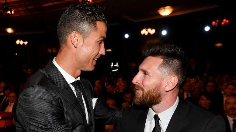 Cristiano Ronaldo Lionel Messi. Goal