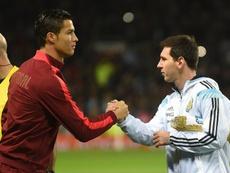 Messi e Cristiano marcar o regresso em seleções em transição. Goal