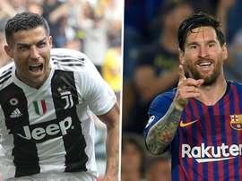 Cristiano Ronaldo igualou Messi. Goal