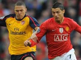 Cristiano Ronaldo révèle avoir failli signer à Arsenal. AFP