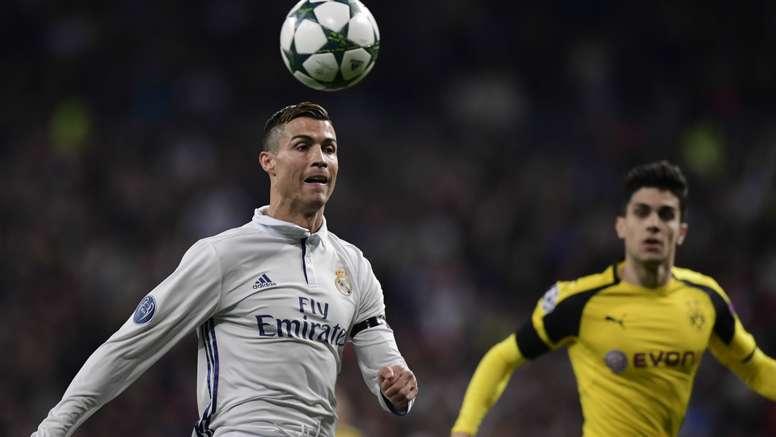 Cristiano Ronaldo Marc Bartra Real Madrid Borussia Dortmund Champions League