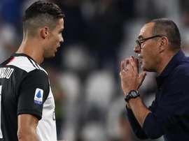 Sarri su Cristiano Ronaldo: 'È da valutare, ha un affaticamento'. Goal