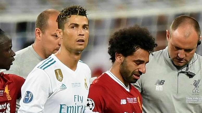 CR7 acredita no sucesso de Salah. Goal
