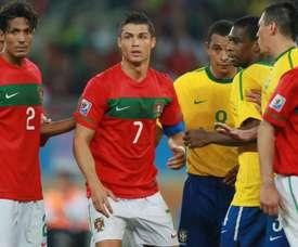 Ronaldo s'est confié à Danilo. Goal