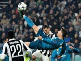 Em 2018, Cristiano Ronaldo marcou golaço de bicicleta pelo Real Madrid contra a Juventus. Goal