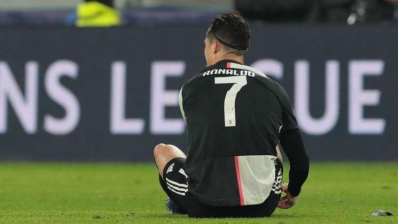Ronaldo struggled with a knee injury. GOAL