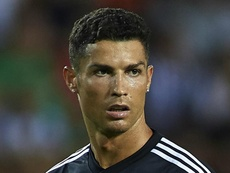 Ronaldo was shown a straight red card. GOAL