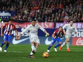 O Atlético é uma das vítimas de Cristiano Ronaldo. Goal