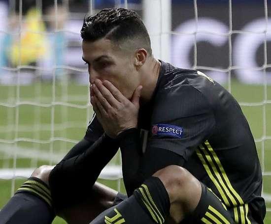 Ronaldo endured a difficult evening on his return to Madrid. GOAL