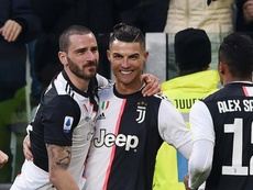 Ronaldo wants Inter to lose, but says Juve have done their job even if Inter win. GOAL