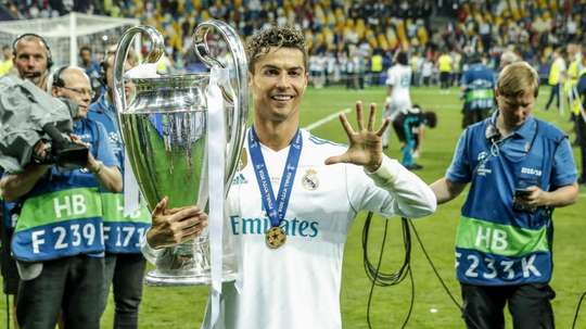 Ronaldo won four Champions Leagues with Real Madrid. GOAL
