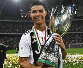 Ronaldo proved the match winner, to record his first title with Juventus. GOAL