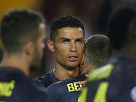 Ronaldo was in tears after his red card. GOAL