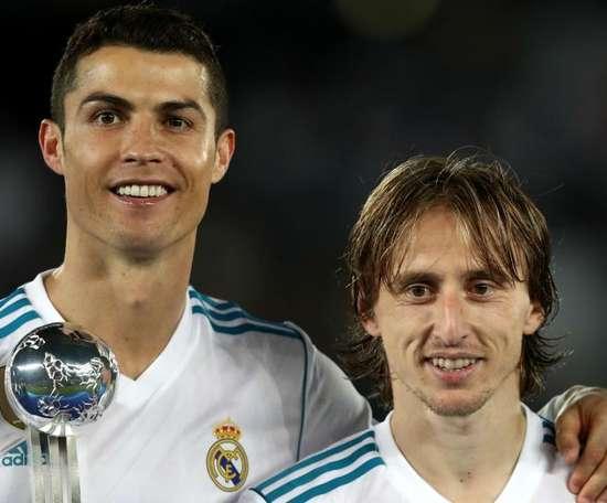 Modric broke Messi and Ronaldo's dominance. GOAL