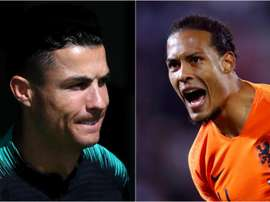 Cristiano Ronaldo and Virgil Van Dijk will clash tonight in a mouth watering tie in Porto. GOAL